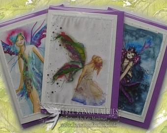 Fairy Birthday Card Pack