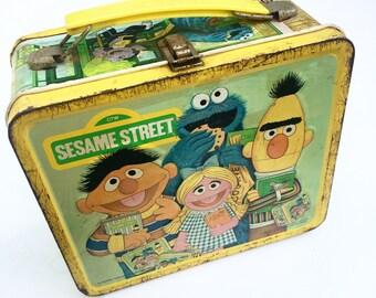 Vintage Sesame Street Lunchbox (1979)