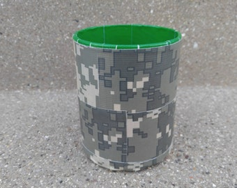 Digital Camouflage Duct Tape Pen/Pencil Holder