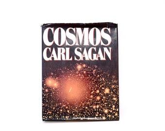 Carl Sagan Cosmos Hardcover Book 1980 1st edition