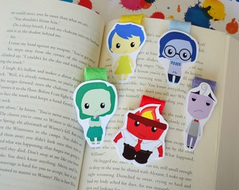 ON SALE Inside out Magnetic Bookmark