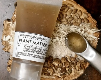 Plant Based Facial Cleanser - PLANT MATTER - Oil-Free, Herbal, Botanical, Sulfate-Free, Vegan Face Wash, Burdock Root, Milk Thistle Seed