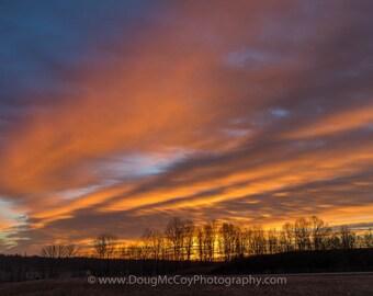 Sunrise in Central Kentucky #0111