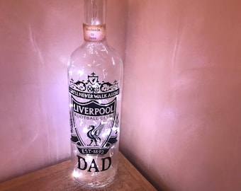 Football clubs light up bottles