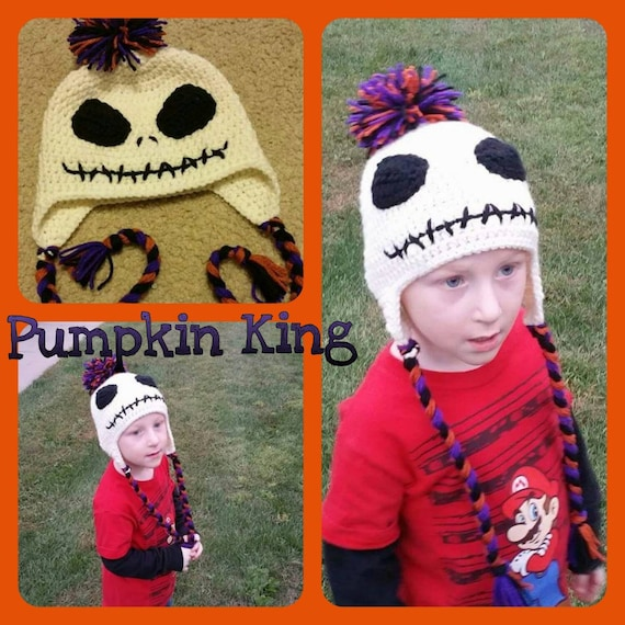 Jack Skellington Baby Toddler Hat, Baby Shower Birthday, Costume, Nightmare Before Christmas, Mommy and Me, Father Son, Kids Matching