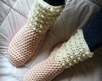 Download Now - CROCHET PATTERN Sheepskin Boots - Ladies Sizs - Pattern PDF