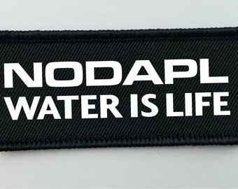 Water is Life Iron-On Patch