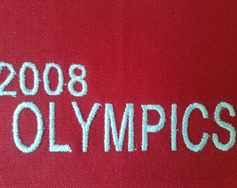Olympic trading pin display banner