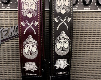 Timber Guitar Strap - Couch Artist Series - Limited Edition