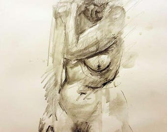 Life Drawing - Standing Figure