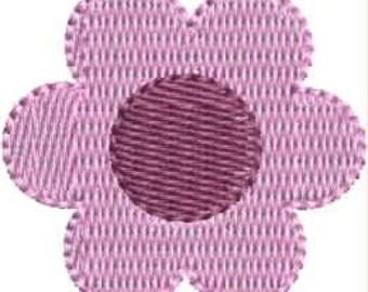 INSTANT DOWNLOAD Mini pretty flower embroidery designs