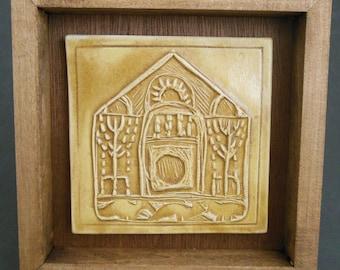 Byzantine Era Inspired Tile (5th century C.E.)