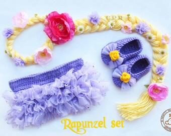 Rapunzel Tutu Set