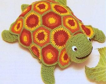 Amigurumi Tortoise Tutorial : Crochet pattern sea turtle by krawka turtle tortoise sea