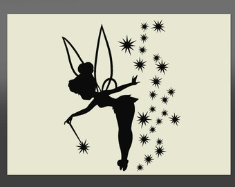 Tinkerbell Stencil - Various Sizes -Made From High Quality Mylar