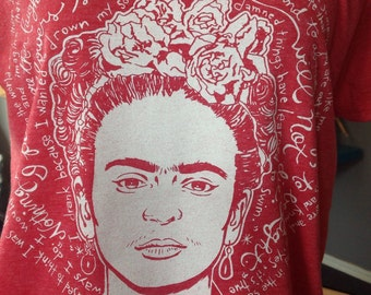 St. Frida the Fierce-Frida- Mexican Artist Saint T-Shirt