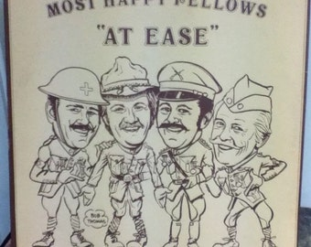 "Most Happy Fellows ""At Ease"" Quarter 12 Inch Vinyl Record"