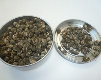 Jasmine Dragon Pearls 2pz (Green Tea) [Top Selling!]