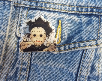 Robert Smith The Cure Band Pin