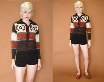 Vintage Navajo Cozy Sweater