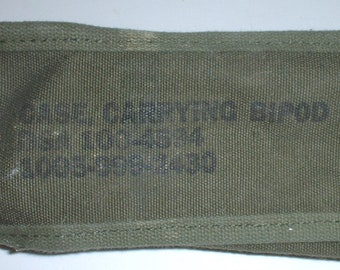 US Army carrying case for M-14 bipod type XM-3