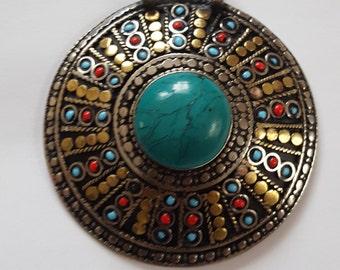 Afghan hand made pendant