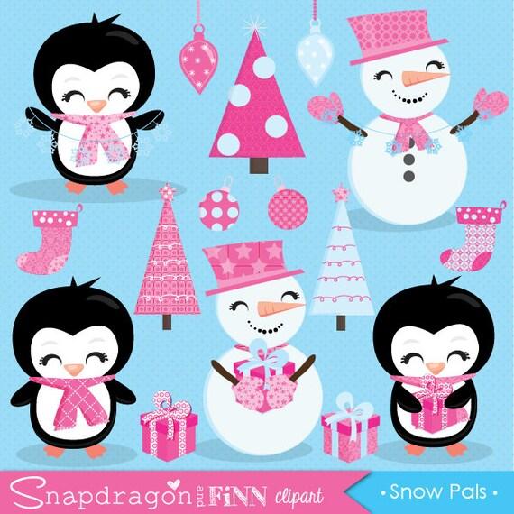 christmas clipart cute snowman clipart cute penguin clipart rh etsystudio com cute snowman png clipart cute snowman clipart black and white
