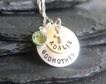 Godmother/Godchild Necklace