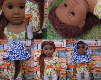 Braided Caramel: American (AG) girl 18 inch doll size 10 wig