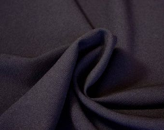 Medium Weight Black Polyester - 58 Inches Wide