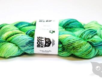 Sigmund - Hand Dyed/Superwash Merino/Cat's Cradle Speckles