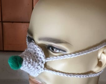 Crocheted Nose Warmer - Nosies