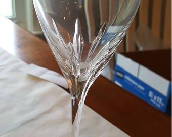 Lot of 4 Vintage Lenox Fine Crystal Wine Glasses/Stemware