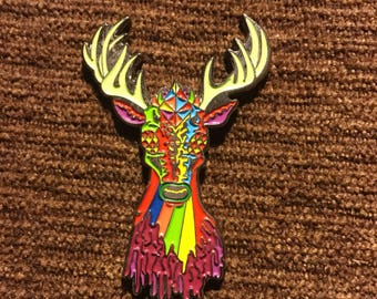 Zombie Deer hat pin