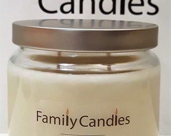Family Candles - Pine Cone 16 oz Double Wicked Soy Candle