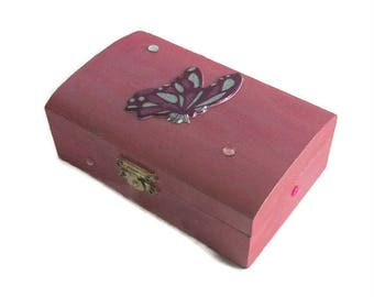 jewelry box pink baroque