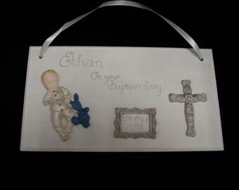 Personalised Baptism Personalized Baptism Custom Christening Gift for Godchild