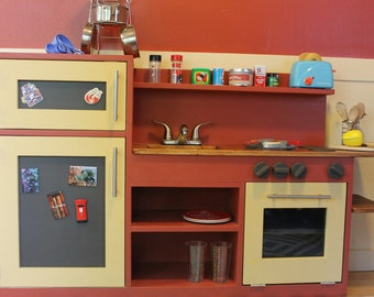 farm train image van le set wooden kitchen for childrens toy toys kids food play