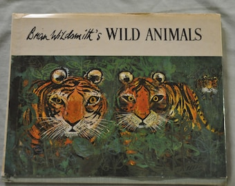 Wild Animals by Brian Wildsmith - Hardbound