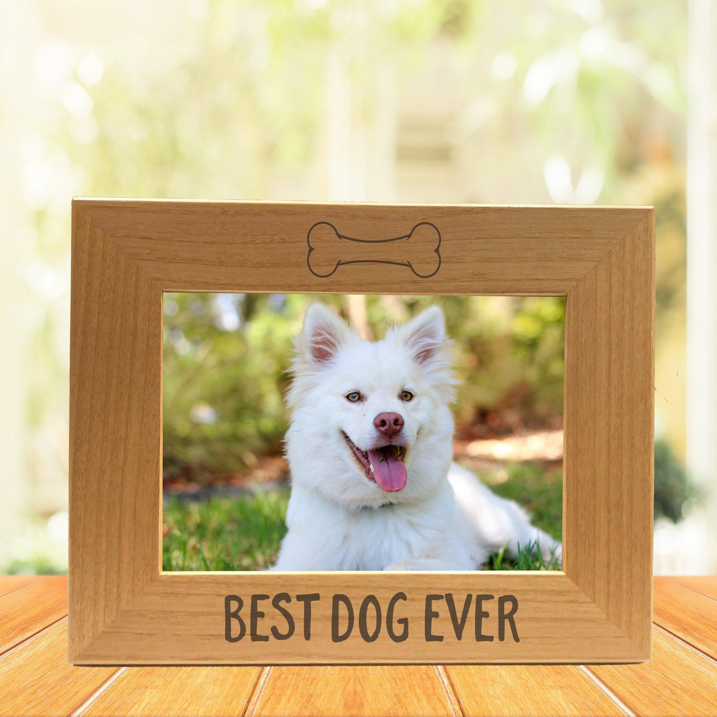 Best Dog Ever Photo Frame Christmas Gift Gift For Dog