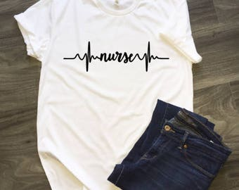 Nurse Heartline T-Shirt