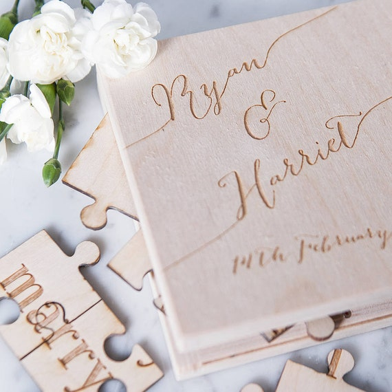 Personalised Proposal Jigsaw Box Will You Marry Me
