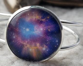 Universe stainless steel bracelet