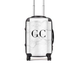 Marble Luggage | Personalised Suitcase | Custom Suitcase | Marble Suitcase |Cabin Baggage |Custom Luggage |Travel | Personalised Luggage