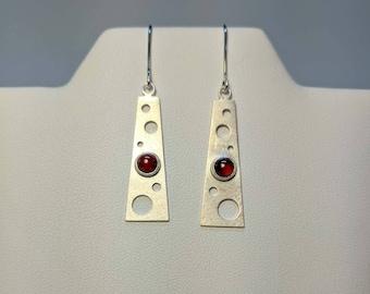 Suspend Earrings: carnelian