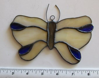 Stained Glass Suncatcher Butterfly