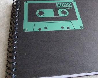 Tape Cassette Vinyl Decal