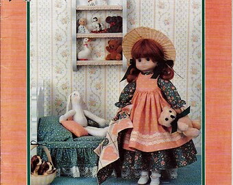 "Emma 14"" Porcelain Look Doll Clothes Sewing Craft Pattern Td-827"