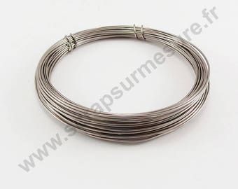 Aluminum Ø 1 mm x 2 m - old ROSE - wire
