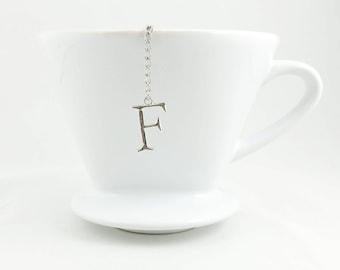 """Letter """"F"""" Loose Tea Infuser Tea Strainer Mesh Loose Leaf Tea"""